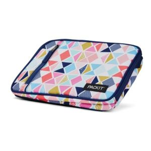 حقيبة توضيب طعام كلاسيكيّة قابلة للتفريز، ألوان زاهية، باك إيت-PackIt