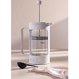 آلة صنع القهوة فرنش برس أبيض - 1لتر