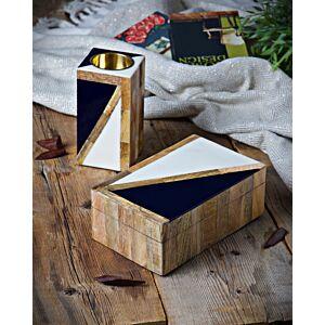 طقم مبخرة مع صندوق تراينغالز