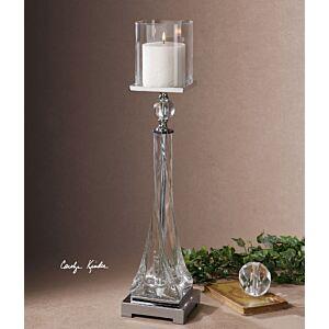 حامل شموع Grancona Glass Candleholder