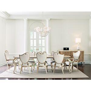 كرسي طاولة طعام Fontainebleau - Center Side Chair