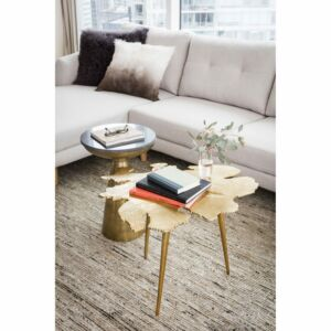 Amoeba Side Table Gold طاولة