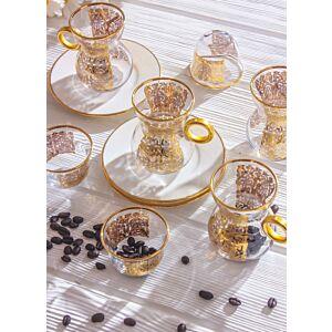 طقم قهوة وشاي كوايت اليغانس- ل6 أشخاص