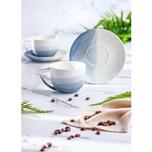 طقم فناجين شاي بلو رين - لشخصين