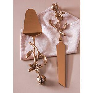 حامل وسكينة تقديم كيك أليس فلاورز