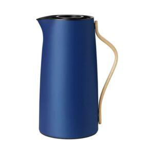 ترمس القهوة والشاي الازرق الغامق والذهبي من Stelton