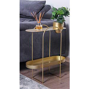 طاولة جانبية بلانتر سايد - لون ذهبي