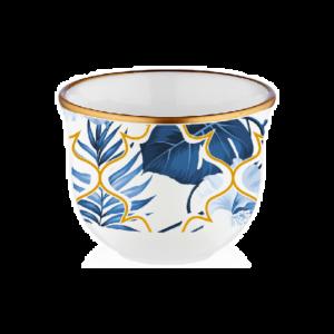 فناجين قهوة عربية أمازون بلو- 6 قطع