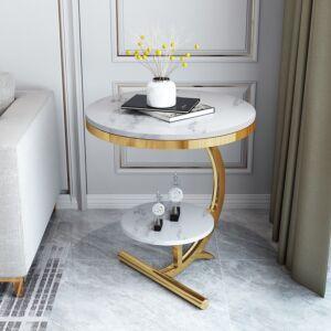 طاولة جانبية ماربل شادو