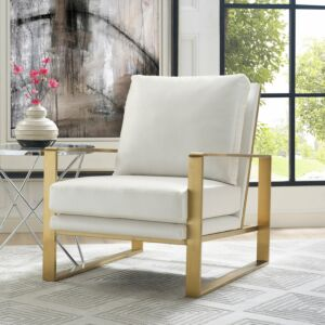 Mmott textured chair in pearl