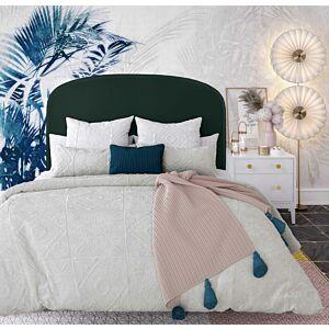 Vvivi forest green velvet bed in king