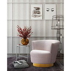 كرسي Noah Blush Velvet Swivel Chair