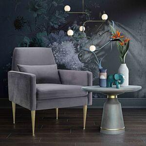 طاولة قهوة Dumbo Grey Concrete Coffee Table