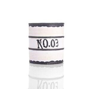 حوض جداري على شكل علبة دهان بتصميم أنيق و جذاب لون أبيض - 14x16سم - 357