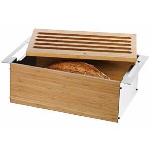 علبة حفظ الخبز غورميه مع لوح تقطيع، دبليو إم إف-WMF