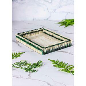 صينية تقديم شيلز - أخضر